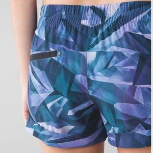 Lululemon spring break away shorts prism multi